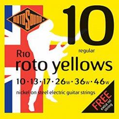 Rotosound R10 stygos elektrinei gitarai