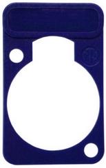 Neutrik DSS-6 mėlyna plokštelė
