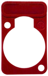 Neutrik DSS-2 raudona plokštelė