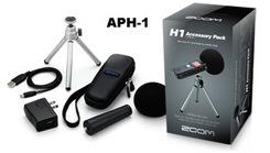 Zoom H1 accessory pak