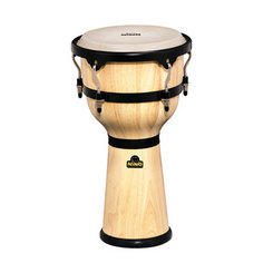 MEINL NINO23NT 10inch wood djembe, natural