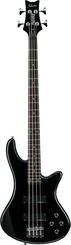Schecter Stiletto Deluxe 4 Black 4 stygų bosinė gitara