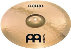 MEINL CC18MC-B Classic custom medium crash lėkštė