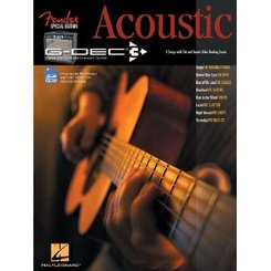 Fender Book SD Card Acoustic