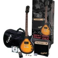 Epiphone Les Paul Special II Player Pack elektrinė gitara/ko