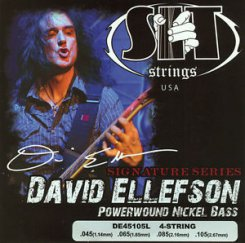 SIT DE45105L Dave Ellefson signature 4 strings