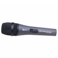 Sennheiser E 845s mikrofonas su jungikliu
