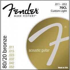 Fender 70CL stygos akustinei gitarai