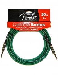 Fender 20 California Sea Foam Green laidas gitarai
