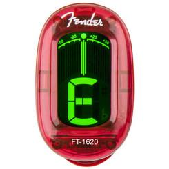 Fender FT-1620 California Red Clip-on chromatic tuner