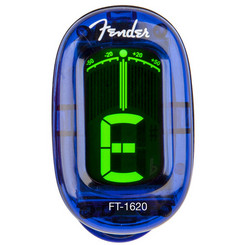Fender FT-1620 California Blue Clip-on chromatic tuner