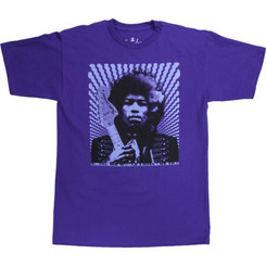 Fender Hendrix KIss The Sky T Shirt BLK L