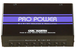 Carl Martin Pro Power maitinimo šaltinis efektams