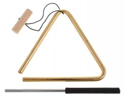 MEINL TRI15B 6inch Triangle Solid Brass