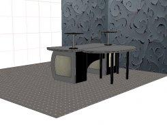 Aparatinės baldas-stalas