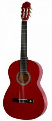 Miguel Almeria PS500.053 transpared red klasikinė gitara