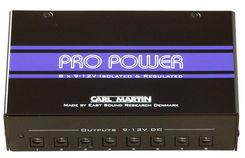 Carl Martin Pro Power V2 maitinimo šaltinis efektams