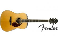 Fender PM-1 Deluxe Dreadnought NAT elektro-akustinė gitara