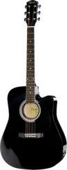Squier SA-105CE Black elektro-akustine gitara