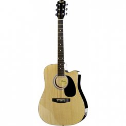 Squier SA-105CE Natural elektro-akustine gitara