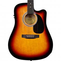Squier SA-105CE Sunburst elektro-akustine gitara