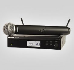 Shure BLX24RE/SM58 belaidis mikrofonas