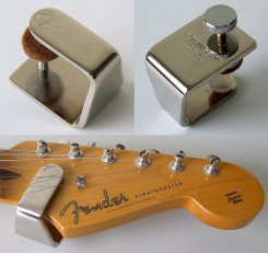 Fender Fat Finger guitar sustain enhancer nickel
