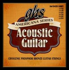 GHS S425 Americana series 12-54 stygos akustinei gitarai