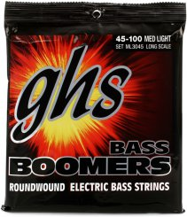 GHS ML3045 Boomers 045-100 nickel plated steel