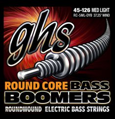 GHS 5ML-DYB Boomers 045-126 nickel plated steel