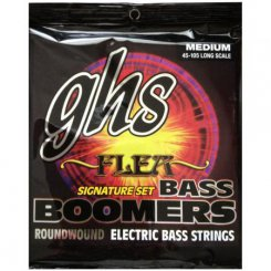 GHS M3045F Boomers Flea signature 045-105 nickel plated steel