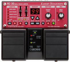 Boss RC-30 loop station gitarinis efektas