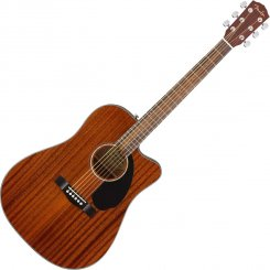 Fender CD-60SCE All Mahogany Solid Top elektro-akustinė gitara