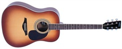 Vintage V501TSB akustinė gitara