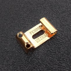 Fender Strat Saddle Pat Pend gold, 1vnt