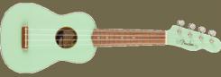 Fender Venice Seaside Soprano Ukulele Surf Green