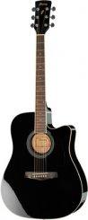 Ibanez PF15ECE BK elektro-akustinė gitara