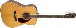 Fender PM-1E R Limited Adirondack Dreadnought, Mahogany elektro-akustinė gitara
