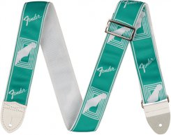 Fender Custom Mono Sea Foam green strap diržas gitarai