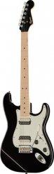 Squier Contemporary Strat HH MPL BLK MET elektrinė gitara