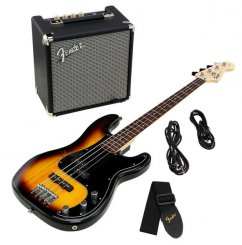 Squier PK PJ-bass R15 BSB bosinės gitaros komplektas