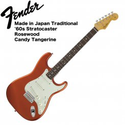 Fender Traditional 60s stratocaster RW CTG Made in Japan