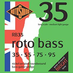 Rotosound RB35 stygos bosinei gitarai