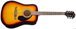 Fender FA-125 SB akustinė gitara