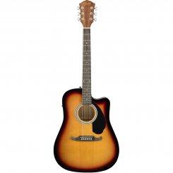 Fender FA-125CE Sunburst elektro-akustinė gitara
