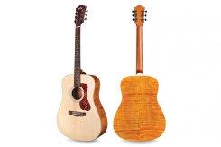 Guild D-240E LTD Flamed Mahogany NAT elektro-akustinė gitara