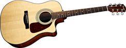 Fender CD-60SCE NAT elektro-akustinė gitara su HFW2 dėklu