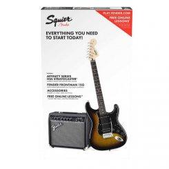 Squier PK Affinity Strat HSS BSB elektrinės gitaros komplektas