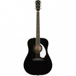 Fender PM-1E Dreadnought FSR BLK W/CASE OV elektro-akustinė gitara
