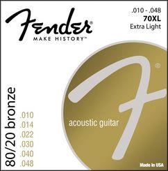 Fender 70XL stygos akustinei gitarai